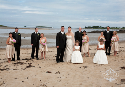 Ceremony: St. Brendan's Church, Biddeford Pool, ME